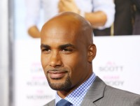 "LOS ANGELES, CA - SEPTEMBER 25:  Boris Kodjoe arrives at the Los Angeles premiere of ""Baggage Claim"" held at Regal Cinemas L.A. Live on September 25, 2013 in Los Angeles, California.  (Photo by Michael Tran/FilmMagic)"