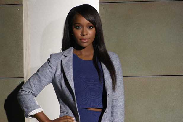 "HOW TO GET AWAY WITH MURDER - ABC's ""How to Get Away with Murder"" stars Aja Naomi King as Michaela Pratt. (ABC/Bob D'Amico)"