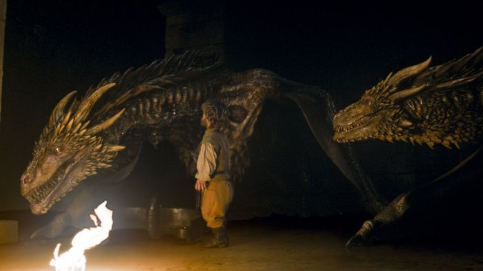 tyrion meets dragons